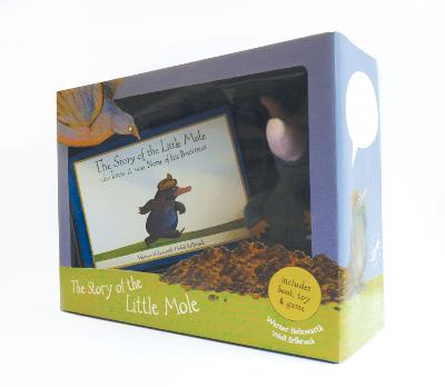 Little Mole Box Set With plush toy by Werner Holzwarth