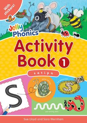 Jolly Phonics Activity Book 1 in Precursive Letters (BE) by Sara Wernham, Sue Lloyd