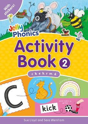 Jolly Phonics Activity Book 2 in Precursive Letters (BE) by Sara Wernham, Sue Lloyd