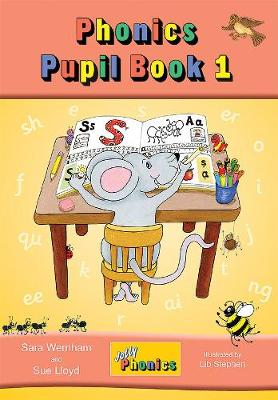 Jolly Phonics Pupil Book 1 (colour edition) in Precursive Letters (BE) by Sara Wernham, Sue Lloyd