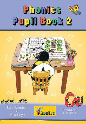 Jolly Phonics Pupil Book 2 (colour edition) in Precursive Letters (BE) by Sara Wernham, Sue Lloyd