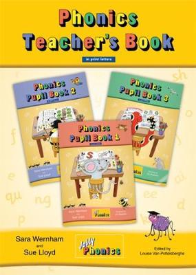Jolly Phonics Teacher's Book (colour edition) in Print Letters (BE) by Sara Wernham, Sue Lloyd