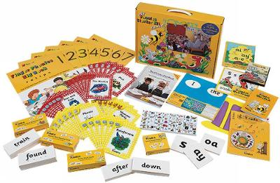 Jolly Phonics Starter Kit Extended in Precursive Letters (BE) by Sue Lloyd, Sara Wernham