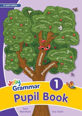 Grammar 1 Pupil Book (in print letters) in Print Letters (BE) by Sara Wernham, Sue Lloyd