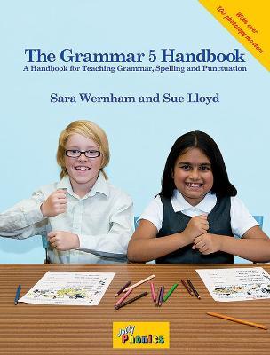 The Grammar 5 Handbook in Precursive Letters (BE) by Sara Wernham, Sue Lloyd