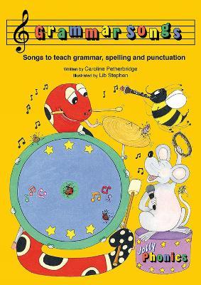 Grammar Songs in Precursive Letters (BE) by Caroline Petherbridge