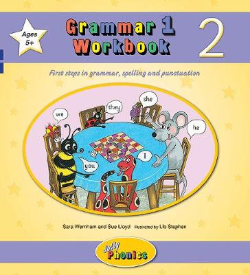Grammar 1 Workbook 2 in Precursive Letters (BE) by Sara Wernham, Sue Lloyd