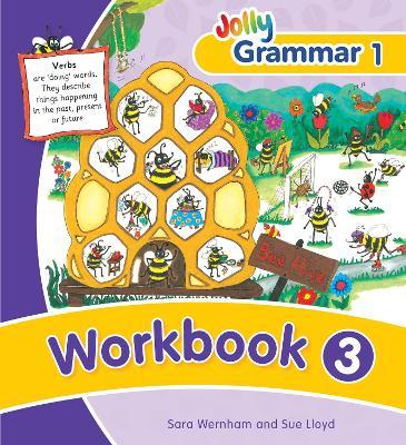 Grammar 1 Workbook 3 in Precursive Letters (BE) by Sara Wernham, Sue Lloyd