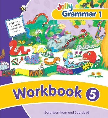 Grammar 1 Workbook 5 in Precursive Letters (BE) by Sara Wernham, Sue Lloyd