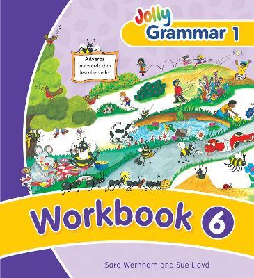 Grammar 1 Workbook 6 in Precursive Letters (BE) by Sara Wernham, Sue Lloyd