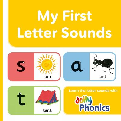 My First Letter Sounds in Precursive Letters (BE) by Sara Wernham, Sue Lloyd