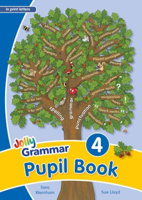 Grammar 4 Pupil Book (in print letters) in Print Letters (BE) by Sara Wernham, Sue Lloyd
