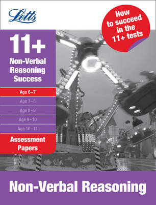 Non-Verbal Reasoning Age 6-7 Assessment Papers by Lisa Murrell