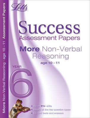 More Non-Verbal Reasoning Age 10-11 Assessment Papers by Peter Francis