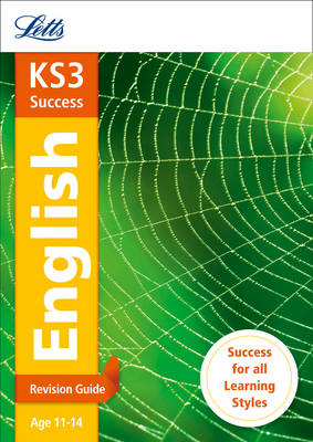KS3 English Revision Guide by Letts KS3