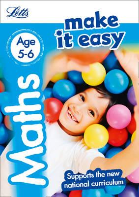 Maths Age 5-6 by Letts KS1, Paul Broadbent, Peter Patilla