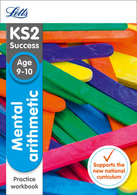 KS2 Maths Mental Arithmetic Age 9-10 SATs Practice Workbook by Letts KS2