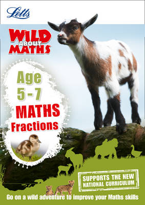 Maths - Fractions Age 5-7 by Letts KS1