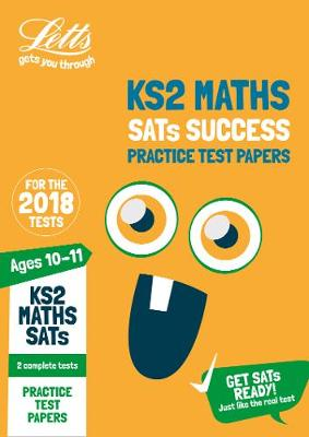 KS2 Maths SATs Practice Test Papers 2018 Tests by Letts KS2