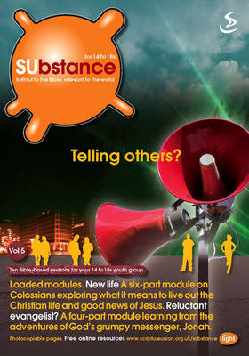 SUbstance Telling Others by Dr Phil (Colour Imaging Group London College of Printing UK) Green
