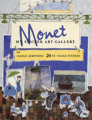 My Sticker Art Gallery: Monet by Carole Armstrong