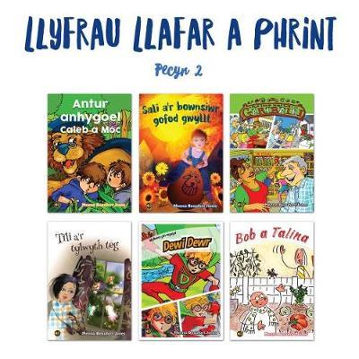 Llyfrau Llafar a Phrint - Pecyn 2 by Menna Beaufort Jones