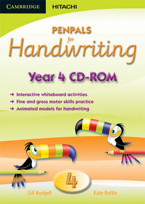 Penpals for Handwriting Year 4 CD-ROM by Gill Budgell, Kate Ruttle