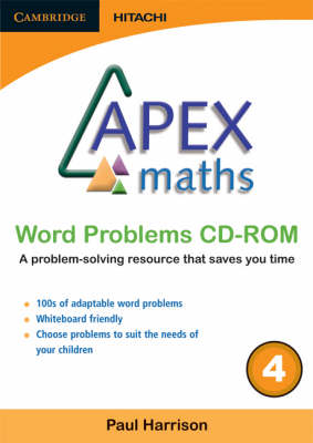 Apex Maths Word Problems CD-ROM 4 by Paul Harrison
