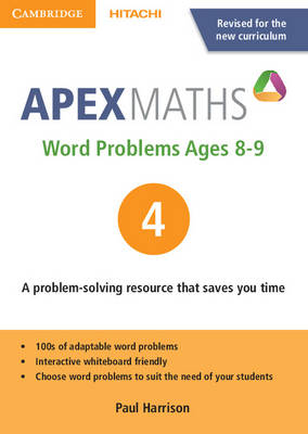 Apex Word Problems Ages 8-9 DVD-ROM 4 UK edition by Paul Harrison