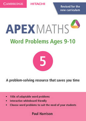 Apex Word Problems Ages 9-10 DVD-ROM 5 UK edition by Paul Harrison