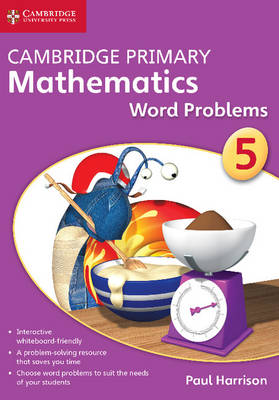 Cambridge Primary Mathematics Stage 5 Word Problems DVD-ROM by Paul Harrison