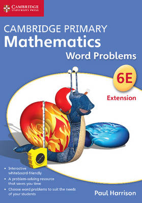 Cambridge Primary Mathematics Stage 6 Extension Word Problems DVD-ROM by Paul Harrison