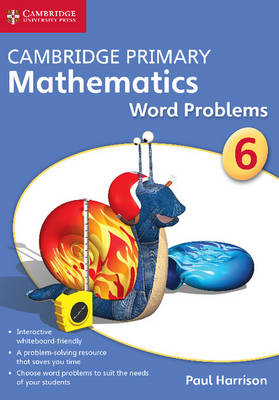 Cambridge Primary Mathematics Stage 6 Word Problems DVD-ROM by Paul Harrison