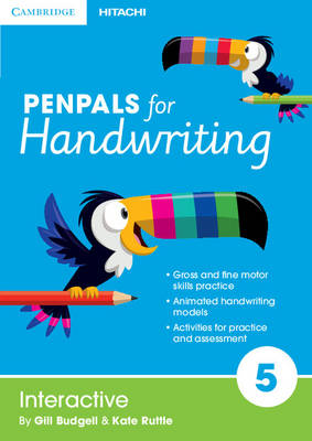Penpals for Handwriting Year 5 Interactive by Gill Budgell, Kate Ruttle