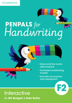Penpals for Handwriting Foundation 2 Interactive by Gill Budgell, Kate Ruttle