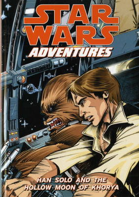 Star Wars Adventures Han Solo and the Hollow Moon of Khorya by Jeremy Barlow