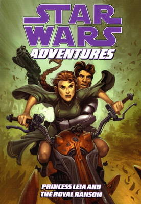 Star Wars Adventures Princess Leia and the Royal Ransom by Jeremy Barlow, Carlo Soriano