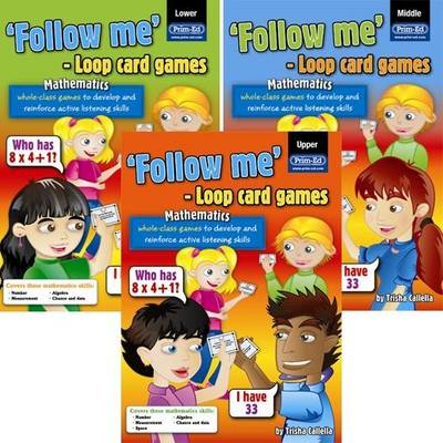 Loop Card Games - English Lower by RIC Publications, Trisha Callella