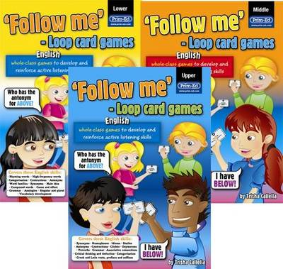 Loop Card Games - English Middle by RIC Publications, Trisha Callella