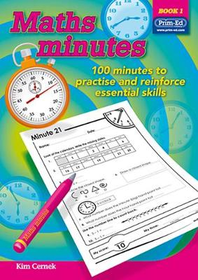 Maths Minutes by Prim-Ed Publishing
