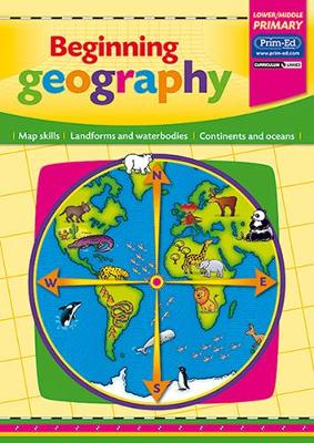 Beginning Geography Map Skills - Landforms and Waterbodies - Continents and Oceans by Evan-Moor Educational Publishers