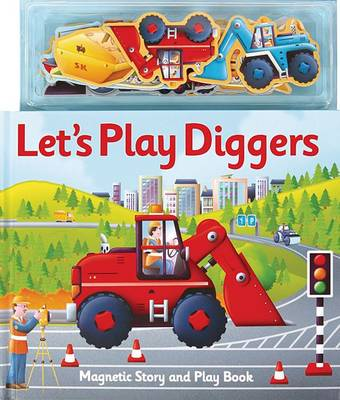 Magnetic Let's Play Diggers by Alfie Clover
