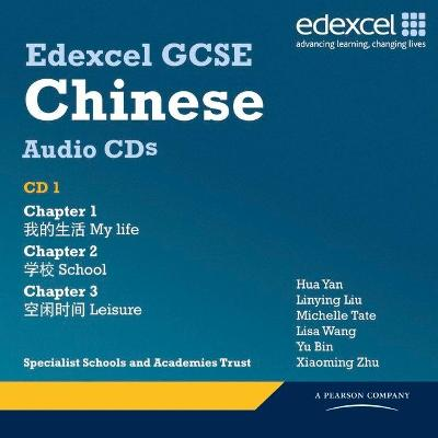 Edexcel GCSE Chinese Audio CD Pack by Katharine Carruthers