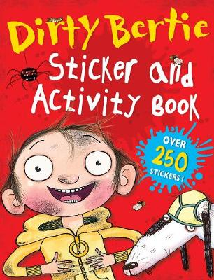 Dirty Bertie Sticker and Activity Book by Alan MacDonald, Amanda Li