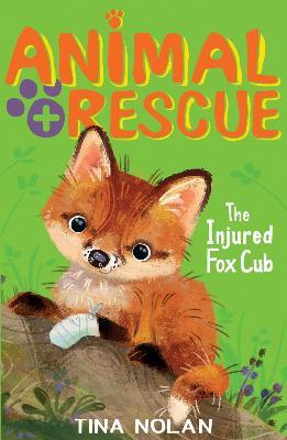 The Injured Fox Cub by Tina Nolan