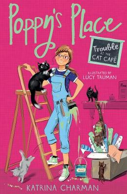 Trouble at the Cat Cafe by Katrina Charman
