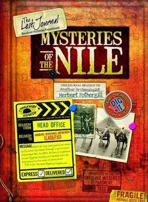 Lost Journal-Mysteries of the Nile by Philip Steele