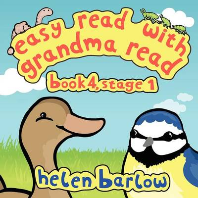easy read with grandma read book 4, stage 1 by helen barlow