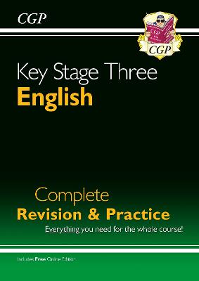 New KS3 English Complete Study & Practice (with Online Edition) by CGP Books