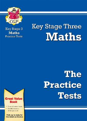 KS3 Maths Practice Tests by CGP Books